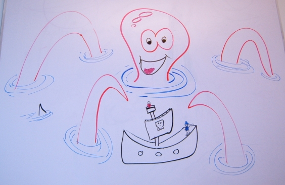 Matt s blog the whiteboard for Cute whiteboard drawings