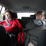 ...while mom and dad typically slept in the back!