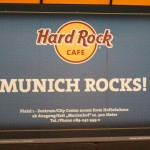 Hard Rock in Munich, Germany