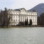 Leopoldskron Palace - you never saw the exterior in the film, but the view from the back overlooking the lake was used throughout as the setting for the back of the villa